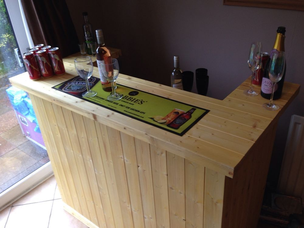 Beautiful Bar Counter, Micro Pub, Summer House Bar, Garden Patio Bar