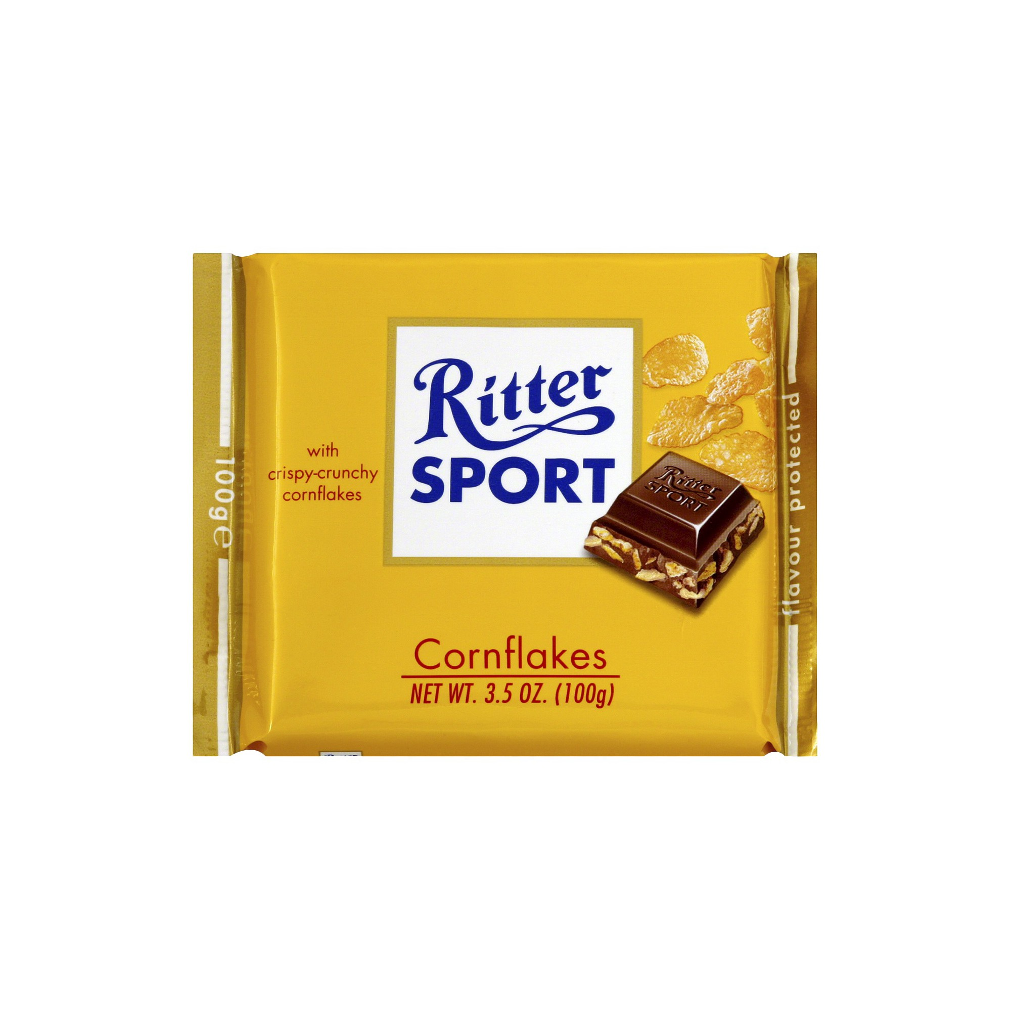 Ritter Sport Milk Chocolate with Cornflakes Candy Bar 3