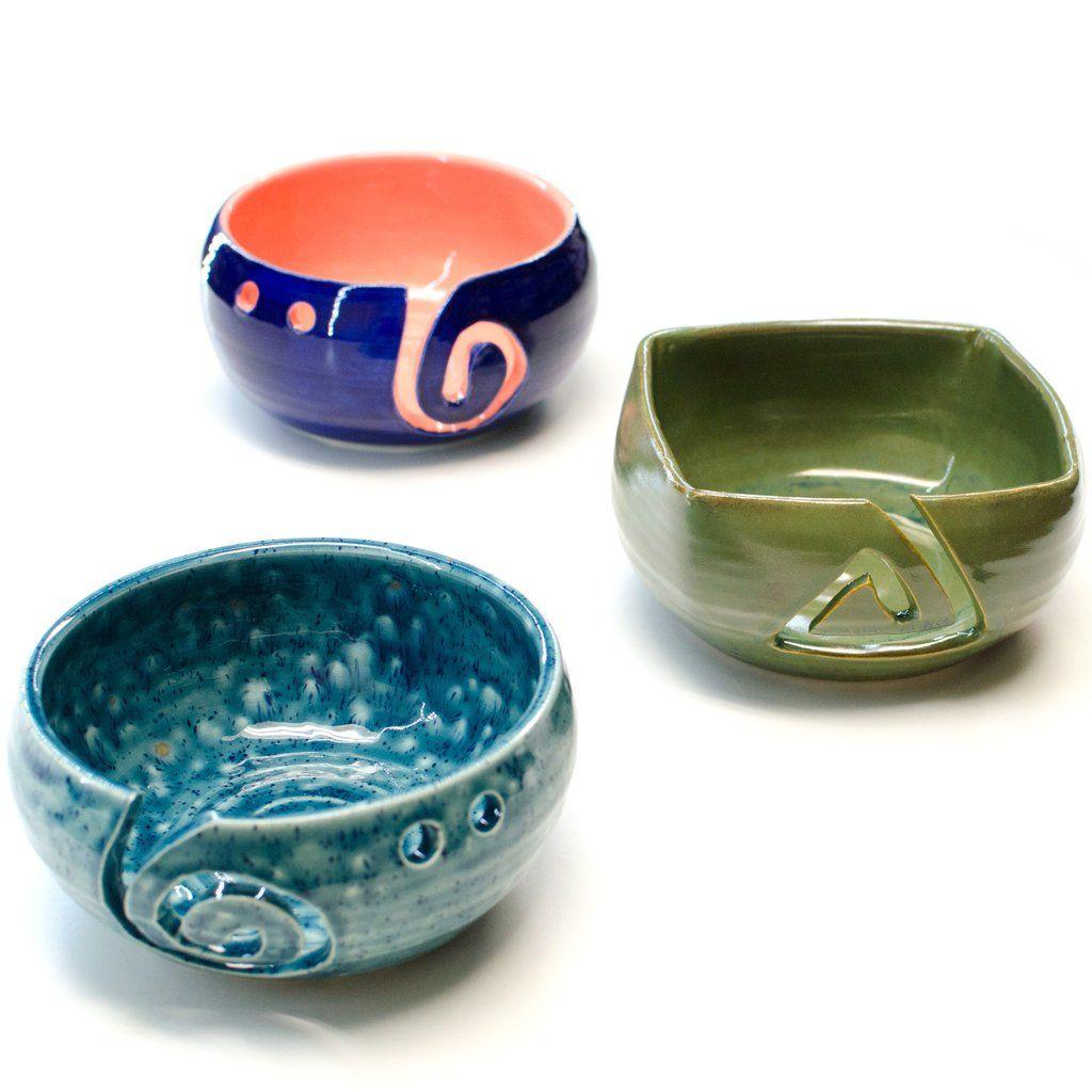 Carly's Clayworks - Yarn Bowls