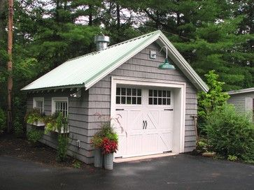 Garage Renovation Wrentham Ma Traditional Garage And Shed Garage Exterior Garage Renovation Garage Remodel
