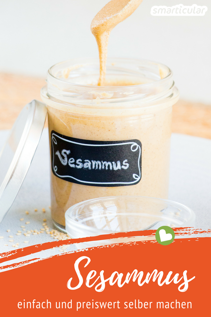 Photo of Simply make sesame (tahini) yourself – in a blender