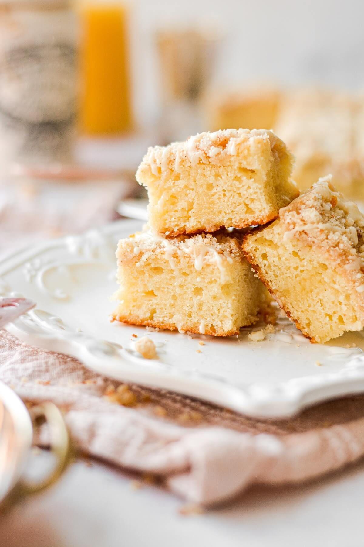 Orange Sour Cream Coffee Cake Curly Girl Kitchen Recipe In 2020 Coffee Cake Sour Cream Coffee Cake Sour Cream