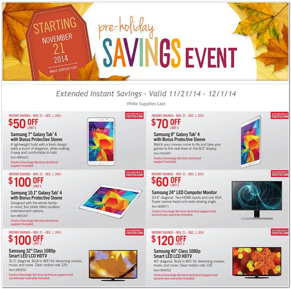 Stl Mommy Costco Black Friday Advertisement Preview Holiday