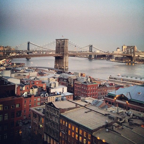 View from Rockrose\'s 200 Water Street Building in the Financial ...