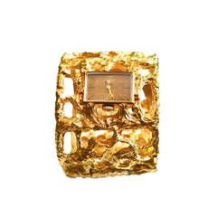 Jonathan Bailey Trifari Iconic Sculptured Watch Cuff