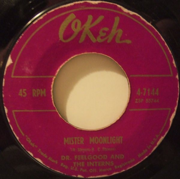 """Mr. Moonlight"" 45 rpm. sello OKeh"