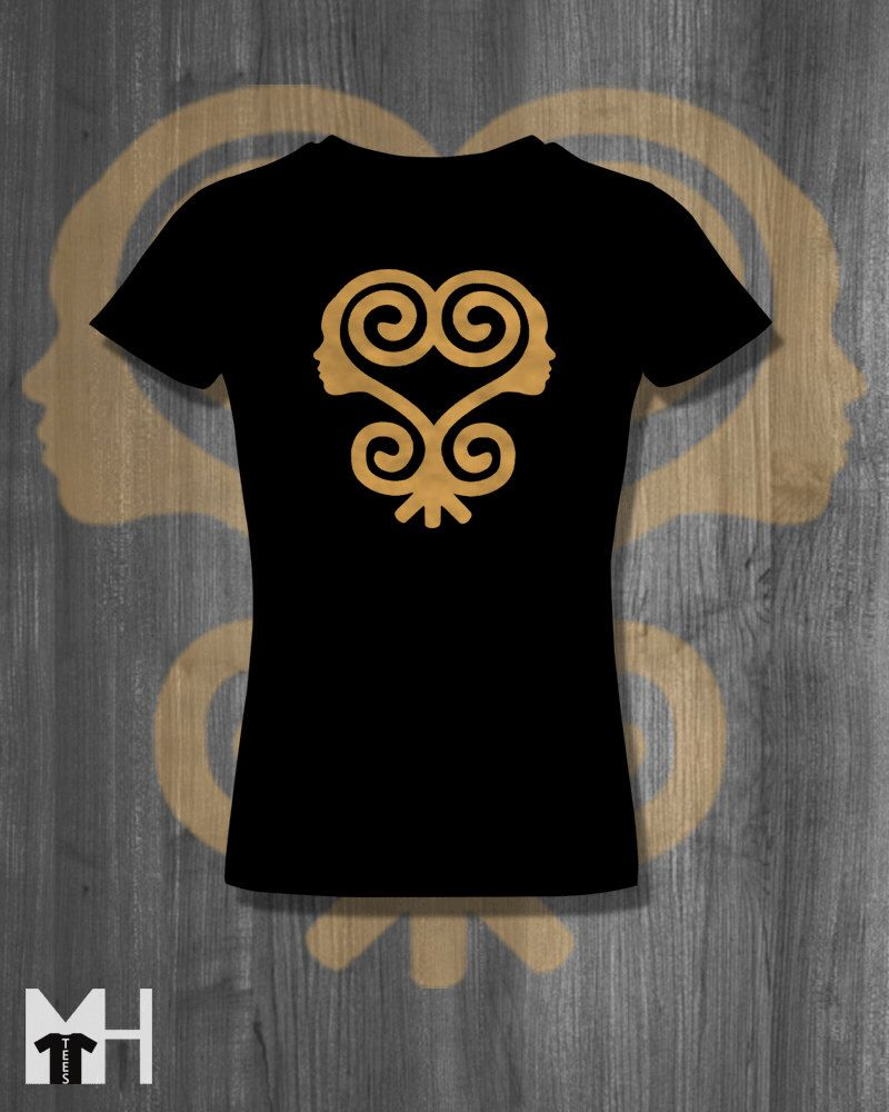 Sankofa T Shirt African Symbols Adinkra T Shirt Plus Sizes African