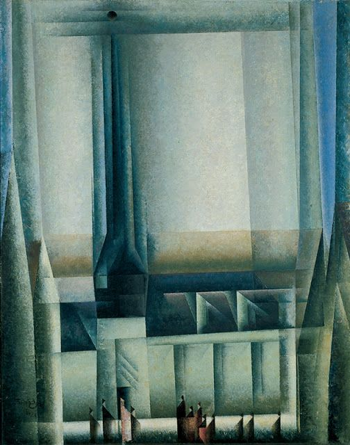 MID-CENTURIA : Art, Design and Decor from the Mid-Century and beyond: Lyonel Feininger Paintings