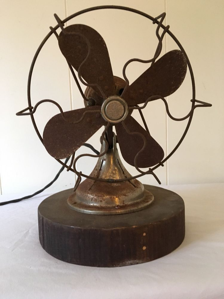 Star Rite Vintage Antique Electric Fan Electric Fan Antiques