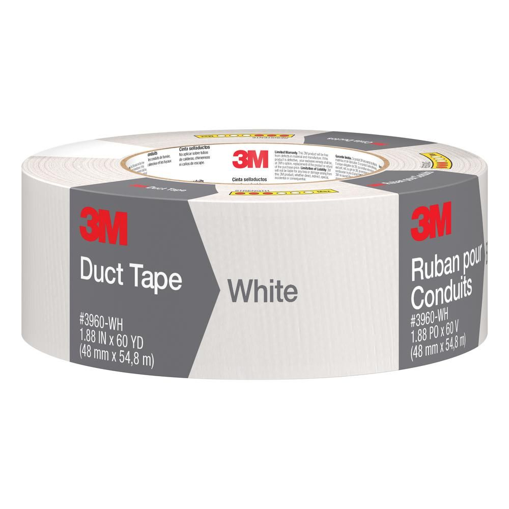 3m 1 88 in x 60 yds white duct tape case of 9 products rh pinterest com