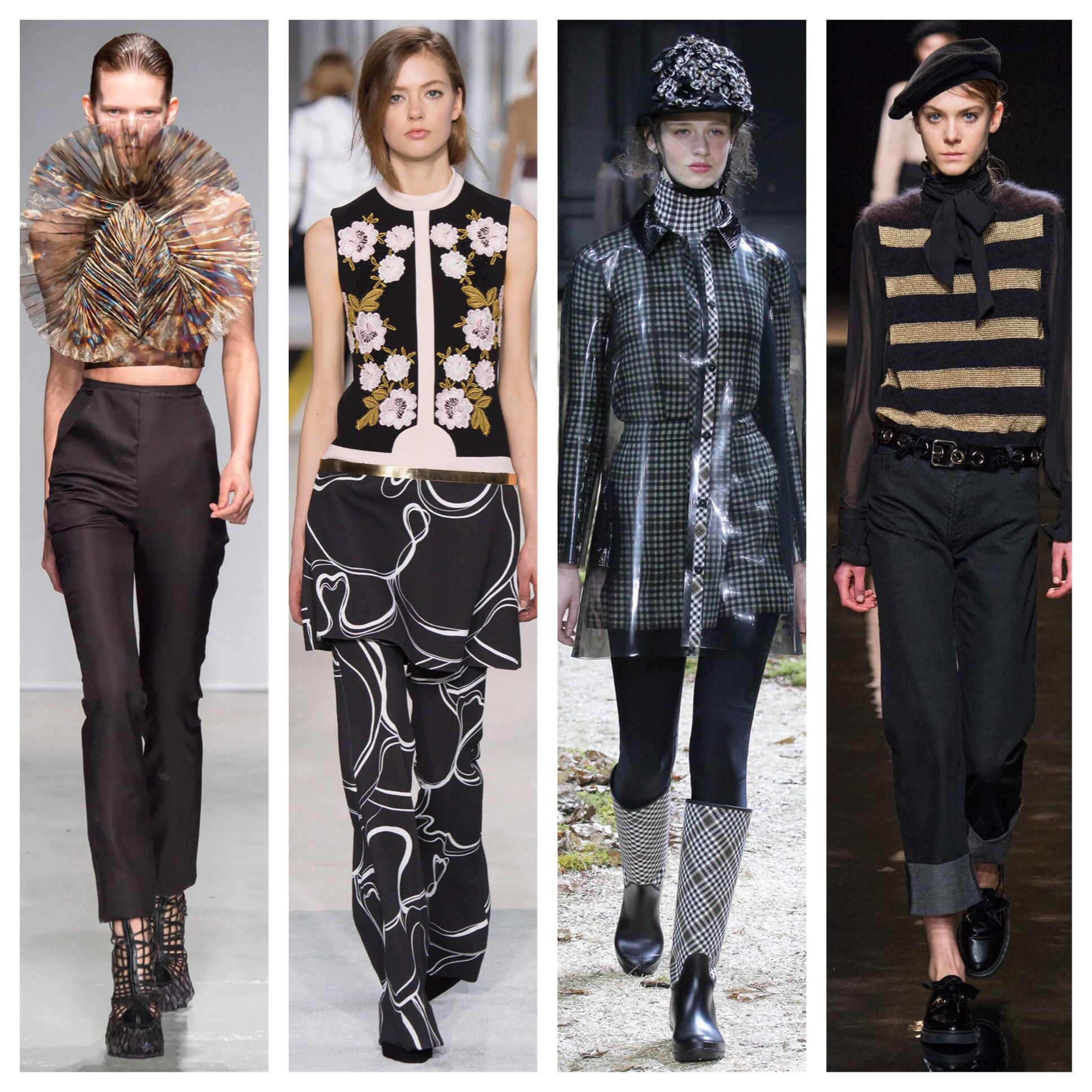 Paris Fashion Week. FW 2015. Iris Van Harpen, Giambattista Valli, Moncler Gamme Rouge, Paul & Joe. #stylecom