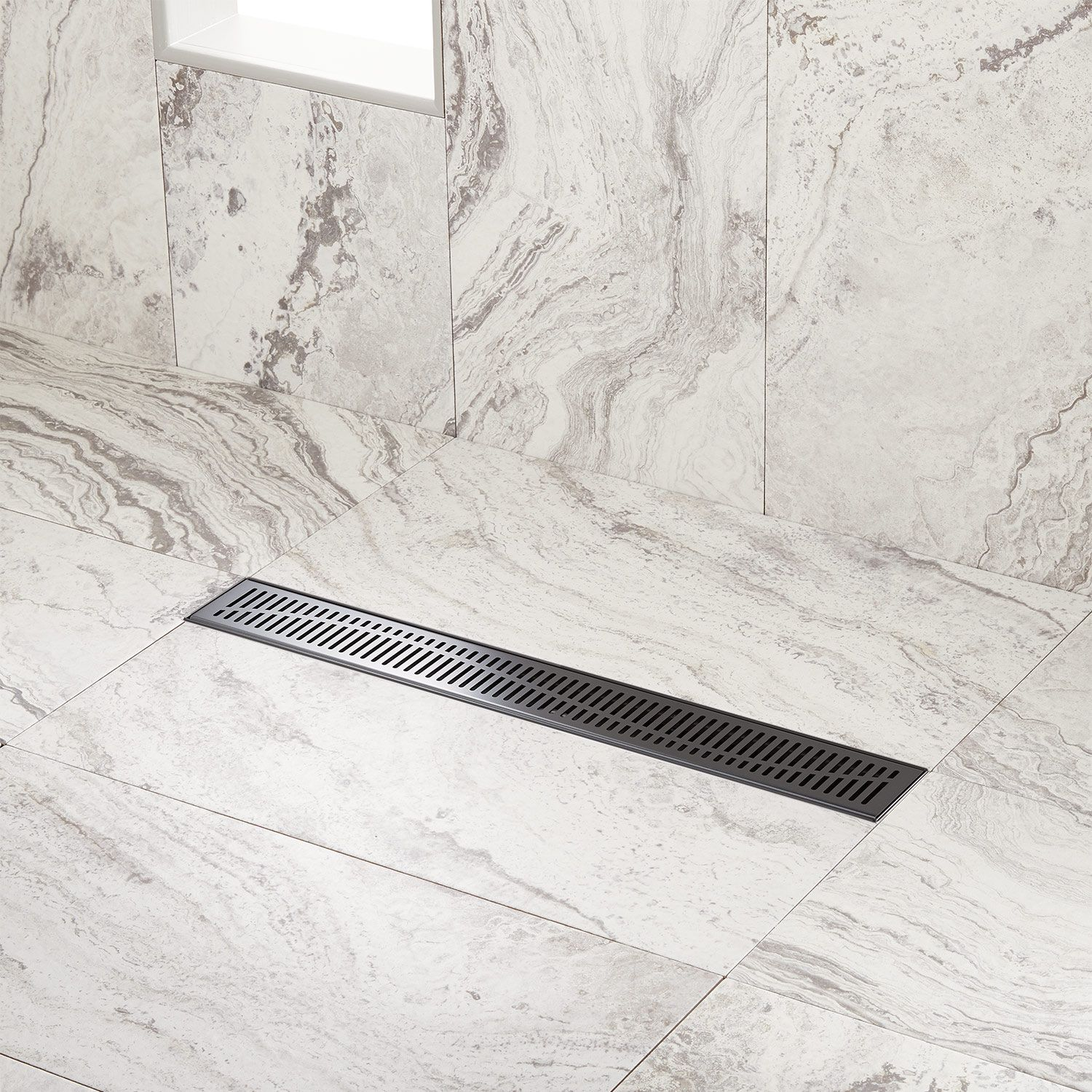 Give Your Bathroom A Stylish Update With The Rowland Linear Shower