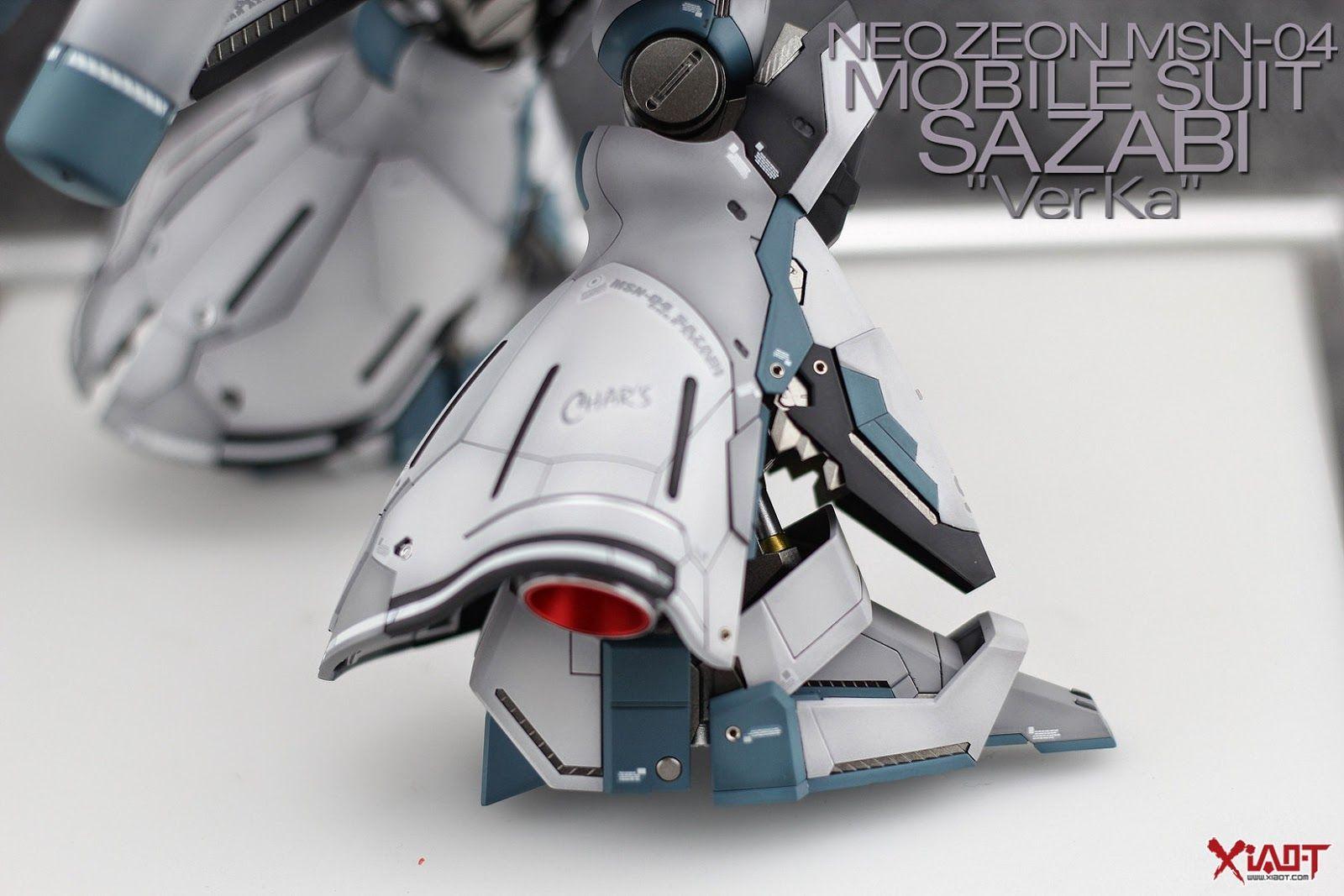 MG 1/100 Sazabi Ver.Ka - Painted Build   Modeled by Jon-K