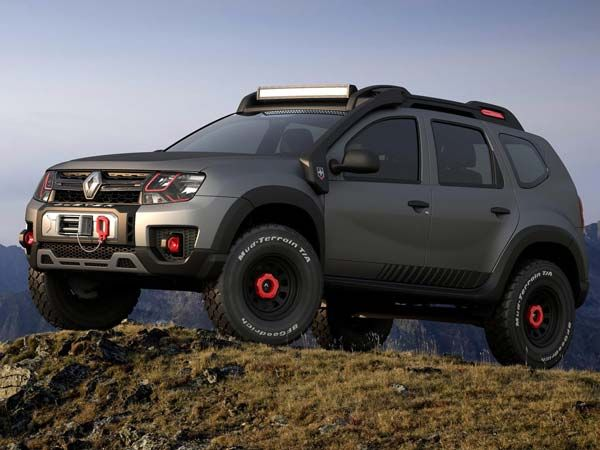 2016 sao paulo auto show renault duster extreme concept. Black Bedroom Furniture Sets. Home Design Ideas