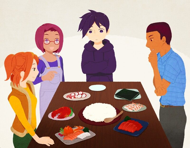 Stardew Valley Art Family Dinner Robin Maru Sebastian Demetrius By Daikanbatsu Stardew Valley Valley Drawing Artwork This game is one of my all time favourites and it just got a brand new free update on pc. stardew valley art family dinner