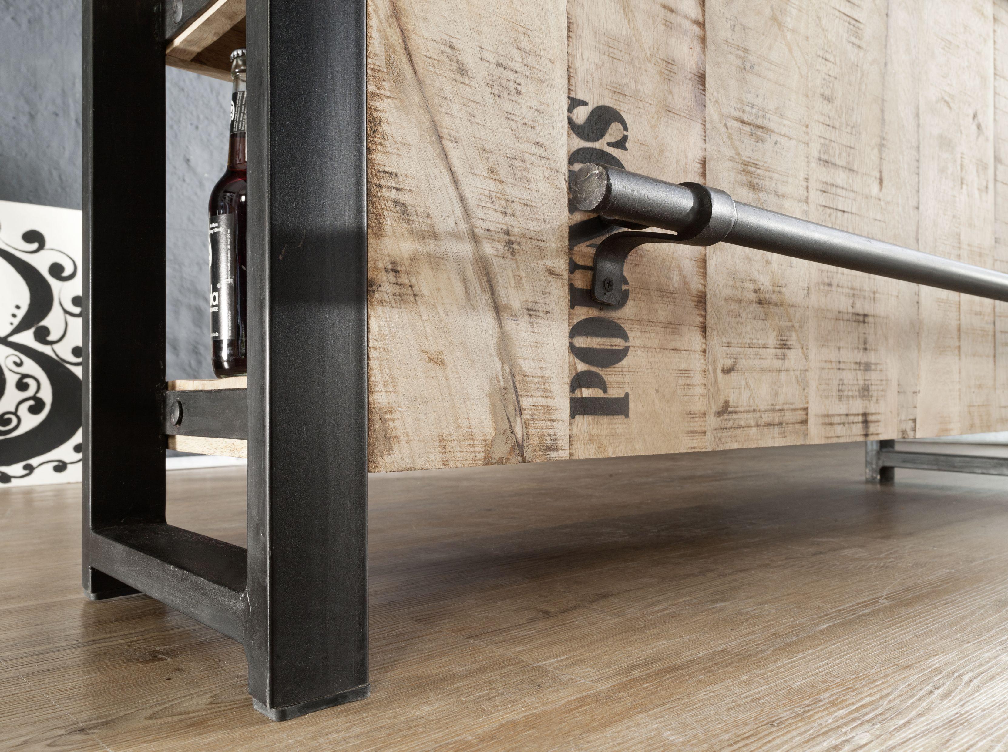 Genial Industrial Look Möbel Ideen Von Cooles Design Aus Mangoholz Und Eisen: Die