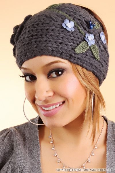 Knitted Headband Nice For Skiing Head Bands Sa Band Ve
