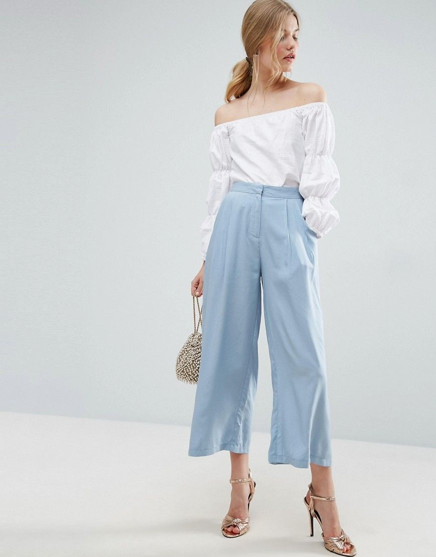 Buy Multicolored Asos Culottes for woman at best price. Compare Trousers  prices from online stores like Asos - Wossel Global