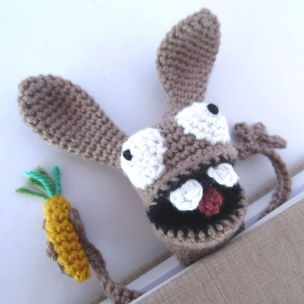 Amigurumi Bunny Bookmark crochet pattern by Supergurumi | Señalador ...