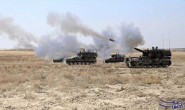غارات تستهدف ريف حمص واشتباكات بين داعش والقوات التركية في ريفي