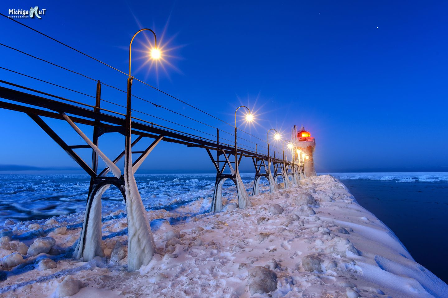 Predawn at South Haven Lighthouse