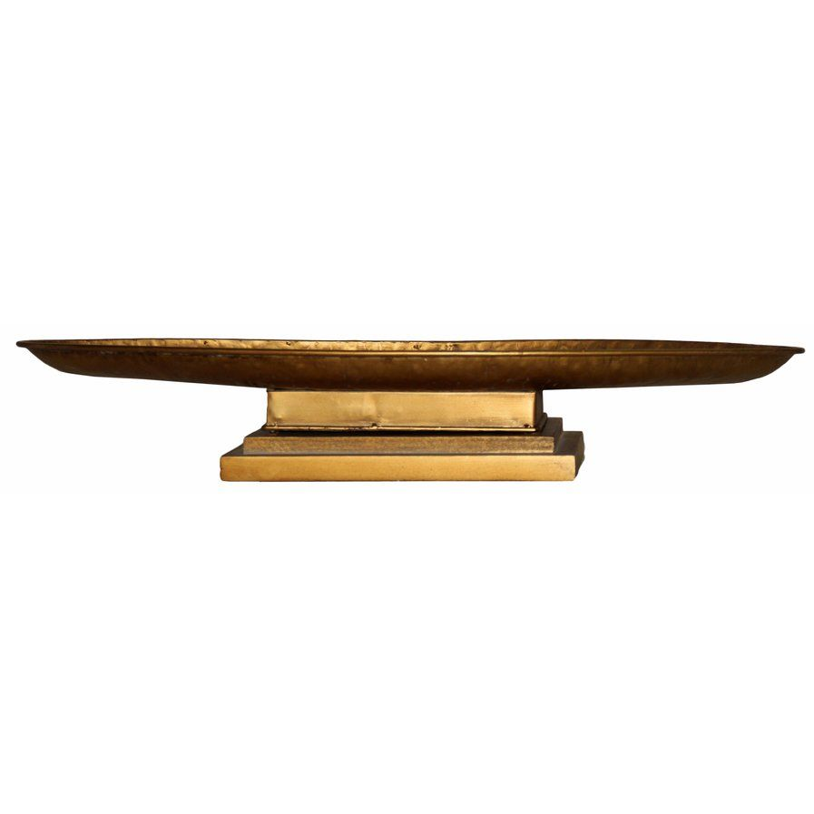 Metal Table Top Oblong Tray