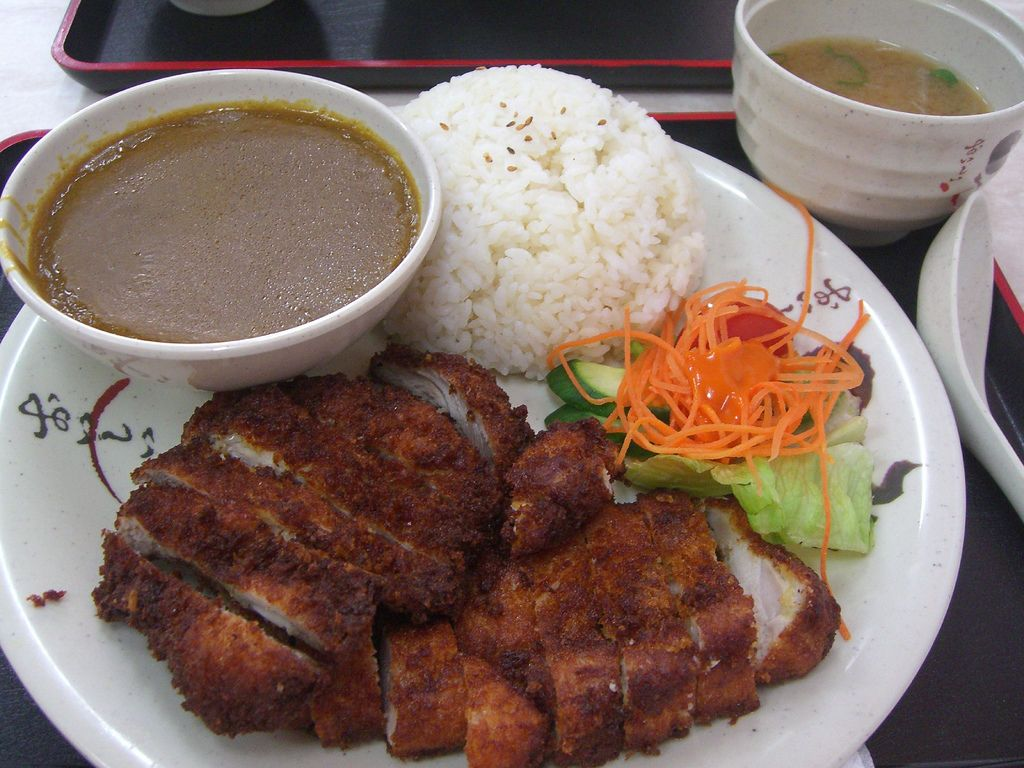 Japanese Chicken Katsu Curry for our #Japanese #language week. Learn Japanese in Tokyo with Cactus! Just click here: http://www.cactuslanguage.com/en/languages/japanese/japan/tokyo.php