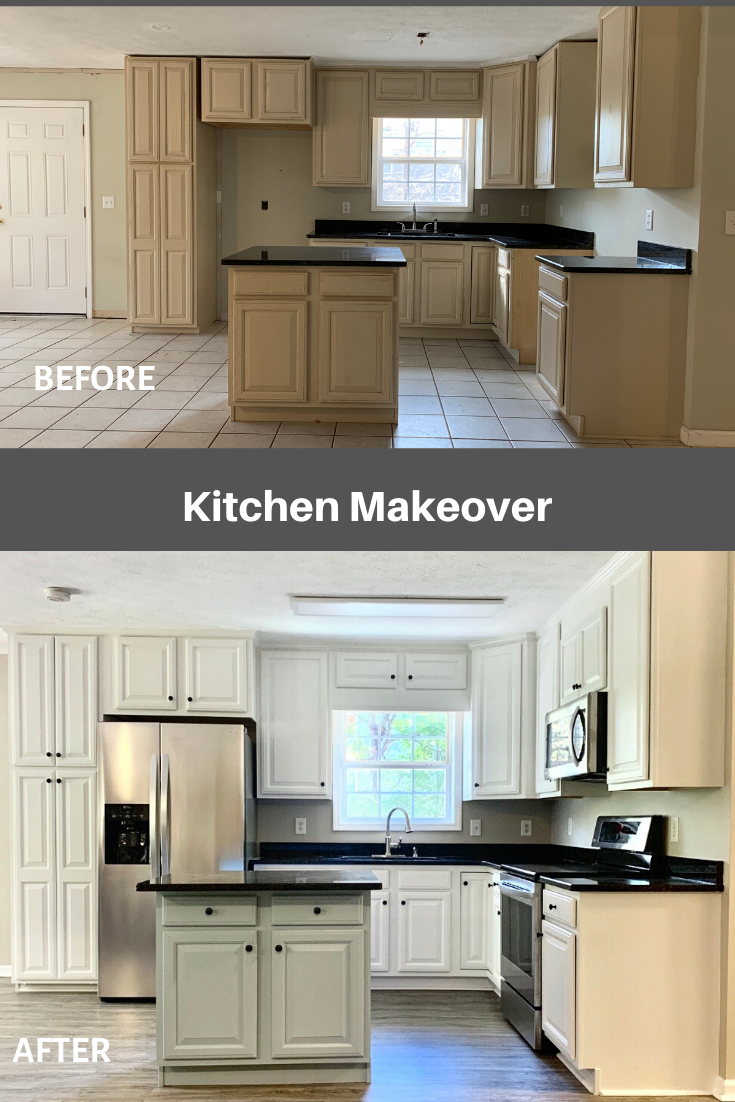 How We Remodeled Our Kitchen On A Budget In 2020 Kitchen Cabinets Kitchen Paint Kitchen