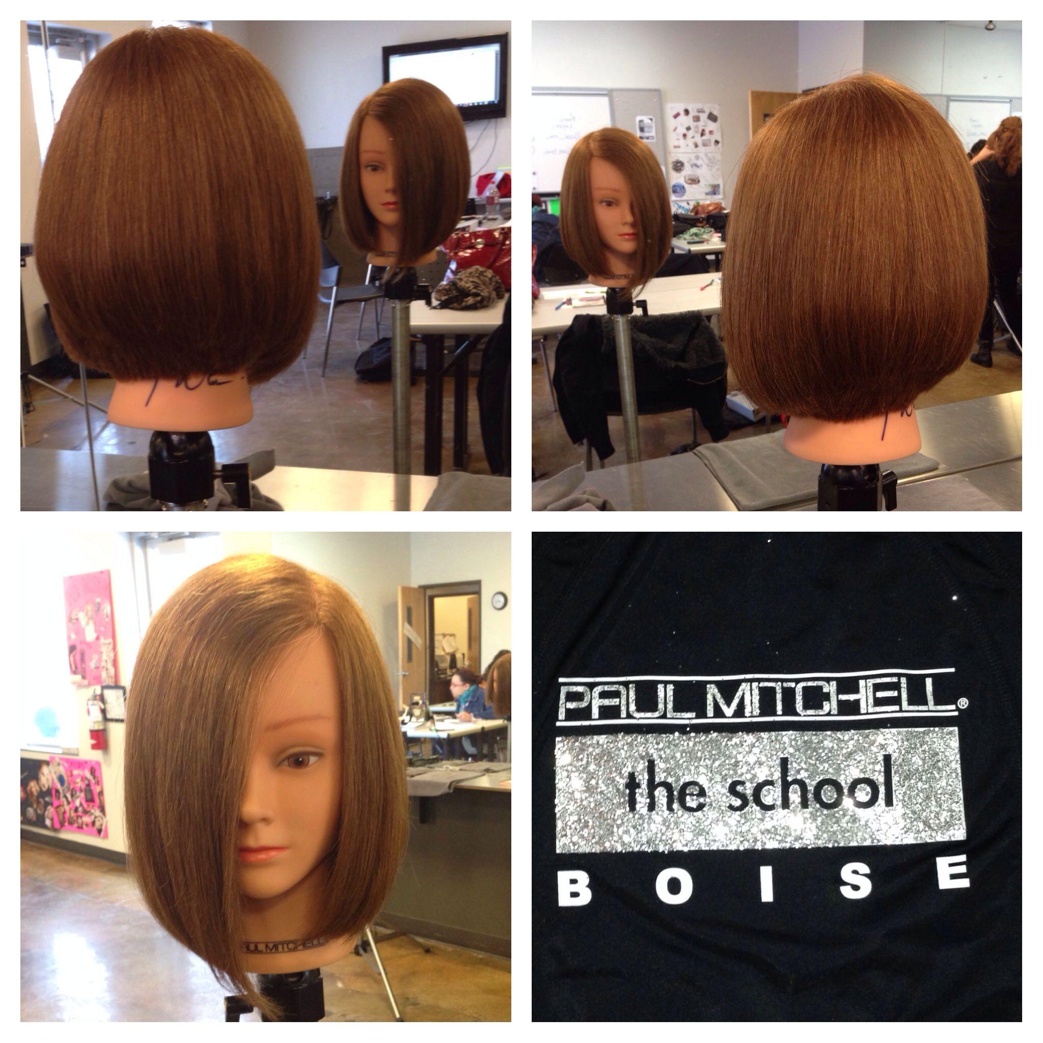 Square Graduated Hair Cut Paul Mitchell Boise Pinterest Hair