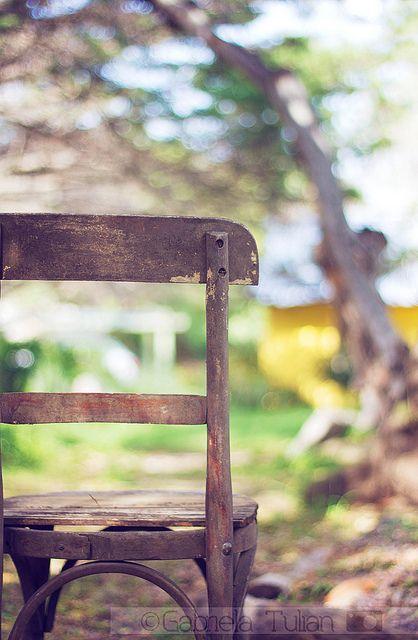 Silla de campo, via Flickr.