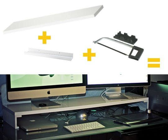 5 Easy One Step IKEA Hacks For More Desktop Storage