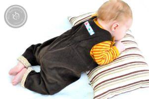 farbenmix Herbstkollektion 2014 Overallhose TOBI, farbenmix.de #sewing #nähen #farbenmix #baby
