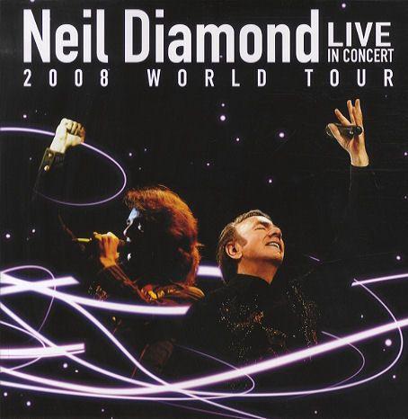 Neil Diamond 2008 Concert So Good Neil Diamond Diamond Girl Concert Posters
