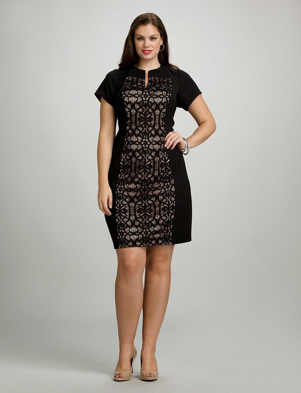 e98f2e03e433 vestidos de encaje para gorditas | Colección | Moda | Vestidos ...