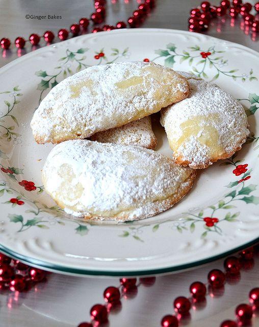 Nutella Half moons by ginger bakes, via Flickr