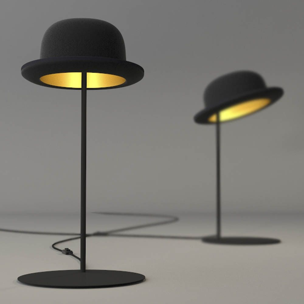 Jeeves lampe à poser chapeau melon design innermost jake phipps suspension