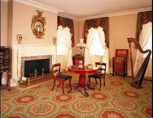 Nice Mount Vernon Interior Photos   The Museum Houses An Impressive Array Of  American Furniture And .