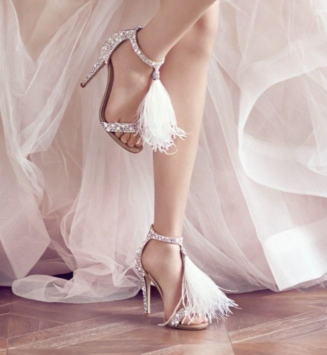 Kampania Jimmy Choo Bridal 2016 Wedding Shoes Heels Coloured Wedding Shoes Wedding Shoes Ankle Strap