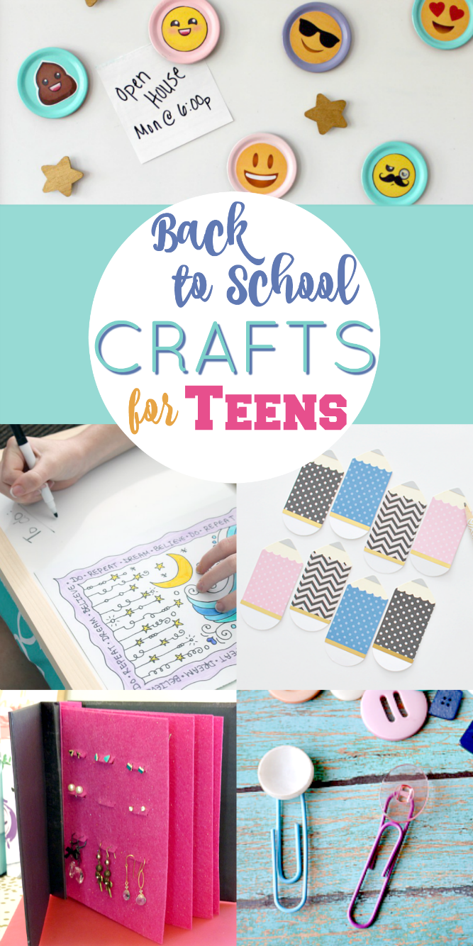 Back To School Crafts For Teen Girls Weekly Link Party Back To
