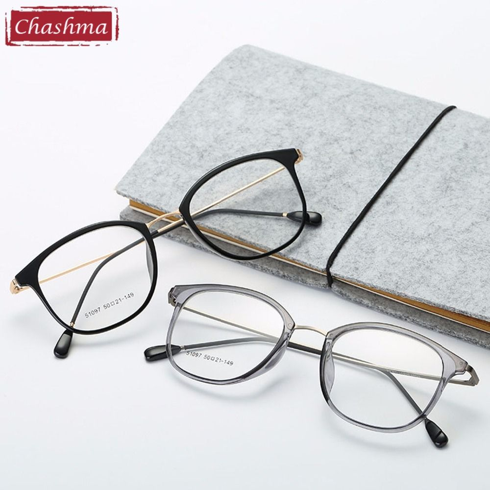 37d79f3d1e3 Chashma Brand Eye Glasses TR 90 Women Glasses Frame Fresh Style Eyewear  Fashion Glasses for Men