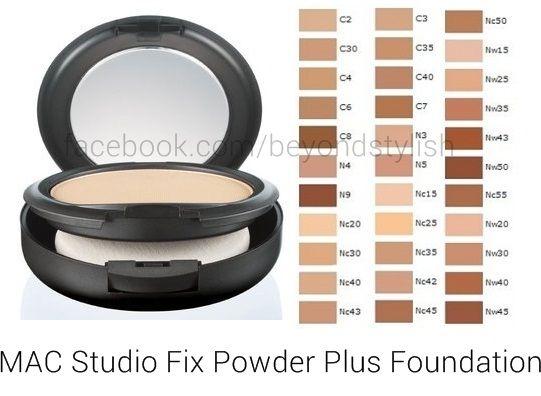 Nyx Stay Matte But Not Flat Powder Foundation Shade Finder Mac Studio Fix Powder Plus Foundation P1 518 Beyond Stylish Maquilhagem Mac Maquiagem Mac Mac