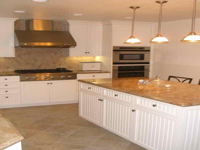 beadboard cabs + island | Beadboard kitchen, Kitchen ...
