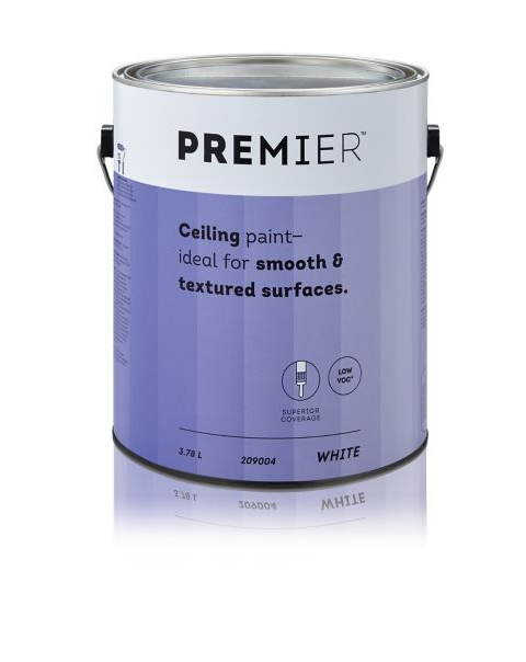 1 Gallon Of Ceiling Paint This Can Cover At Least 400 Square Feet Which Is Around 37 Square Meters Room Is 36 Square Painted Ceiling Ceiling Gallon Of Paint