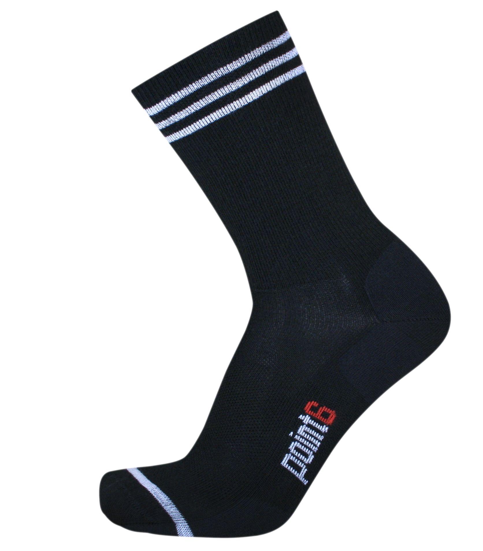Piston ultra light black socks fashion black