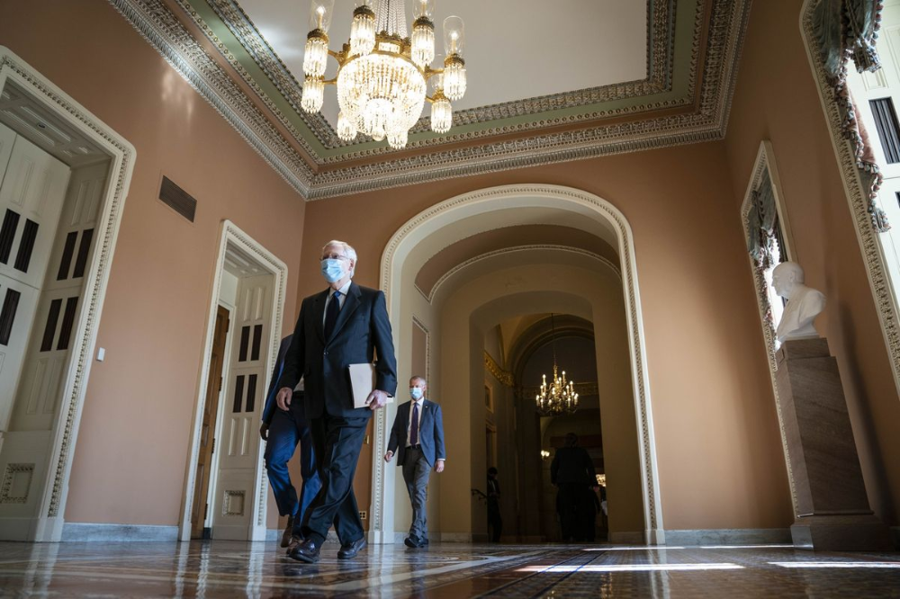 GOP Rolls Out 1 Trillion Stimulus to Start Talks With