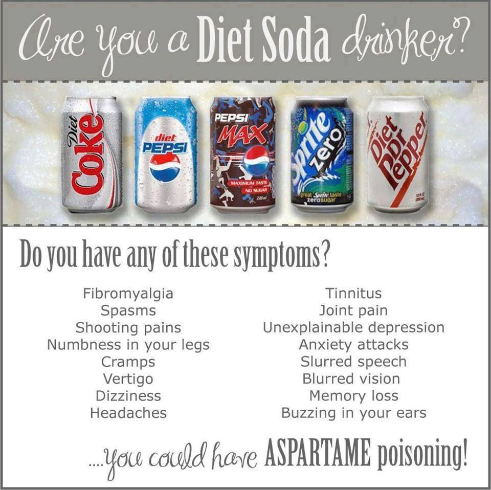 what diet drinks have no aspartame