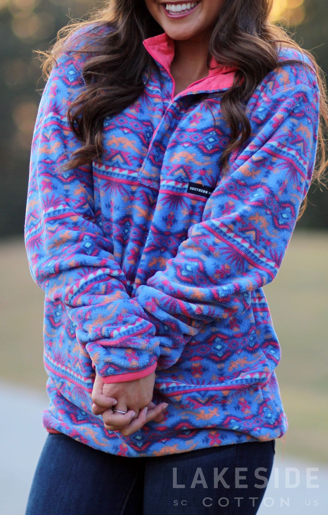 Southern Marsh Dorado Fleece Pullover | Lakeside Cotton | Teen ...
