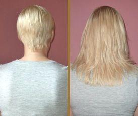 Spiksplinternieuw Extensions for short hair. | Kapsel ideeën, Kapsels, Haar AH-68