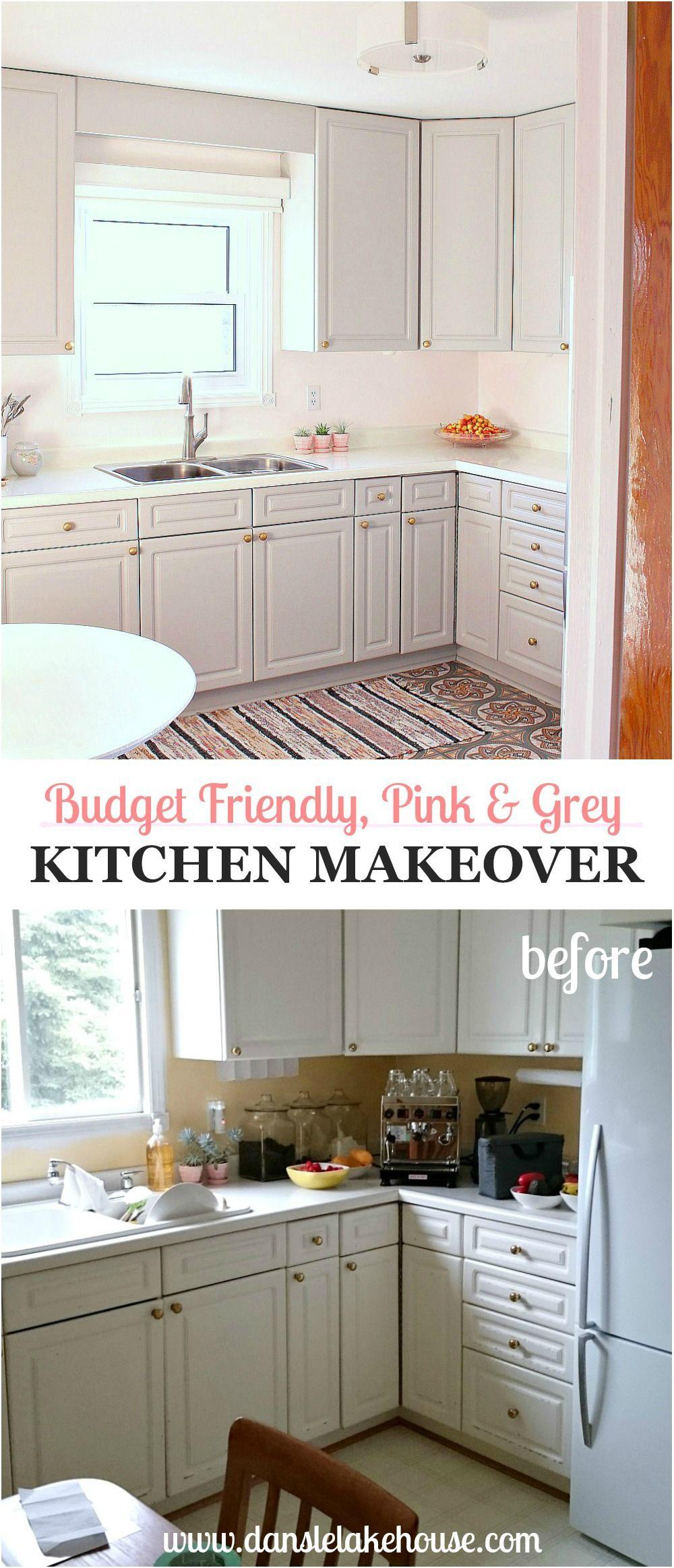 Diy Budget Friendly Kitchen Makeover Dans Le Lakehouse In 2020 Kitchen Diy Makeover Easy Kitchen Renovations Kitchen Makeover