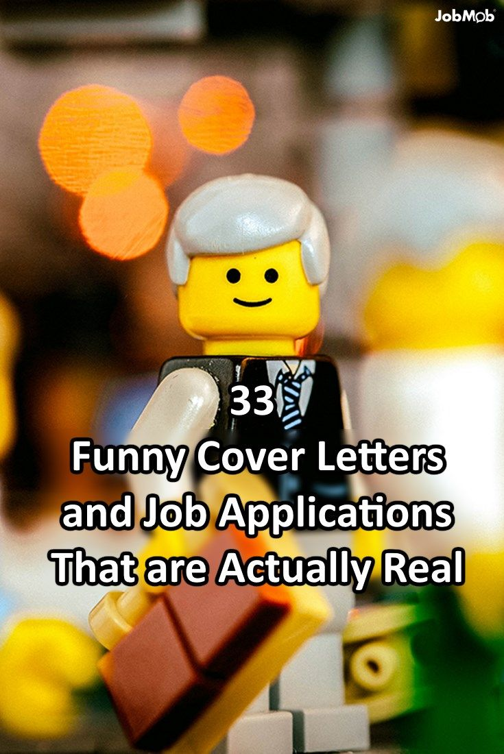 33 Funny Cover Letters and